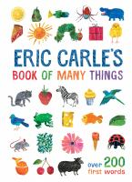 Eric Carle's book of many things  Cover Image