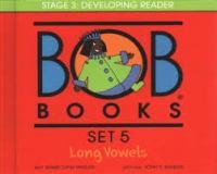Bob books. Set 5 Long vowels Book cover