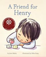 A friend for Henry Book cover