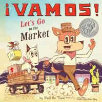 ¡Vamos! Let's go to the market Book cover