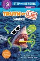 Truth or lie : sharks! Book cover