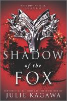 Shadow of the fox Book cover