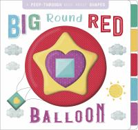 Big round red baloon Book cover