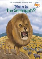 Where is the Serengeti? Book cover