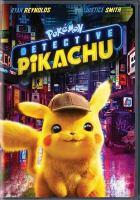 Pokémon Detective Pikachu Book cover