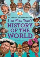 The who was? history of the world Book cover