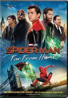 Spider-man. Far from home Book cover