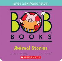 Bob books. Stage 2: Emerging reader Animal stories Book cover