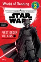 Star Wars : First Order villians