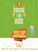 Create your own app with app inventor Book cover
