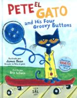 Pete el gato and his four groovy buttons Book cover