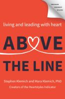 Above the line by Stephen Klemich and Mara Klemich, PhD.