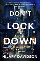 Don't look down Book cover