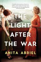 The light after the war by Anita Abriel.