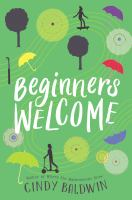 Beginners welcome : a novel Book cover
