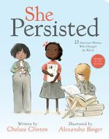 She persisted : 13 American women who changed the world Book cover