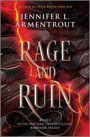 Rage and ruin Book cover