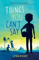 Things you can't say by by Jenn Bishop.