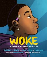 Woke : a young poet's call to justice  Cover Image