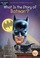 What is the story of Batman? Book cover