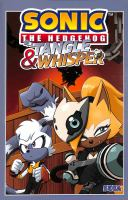 Sonic the Hedgehog. Tangle & Whisper Book cover