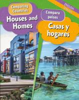 Houses and homes = Casas y hogares Book cover