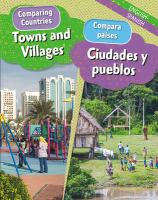 Towns and villages = Ciudades y pueblos Book cover