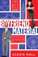 Boyfriend material Book cover