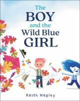 The boy and the wild blue girl Book cover
