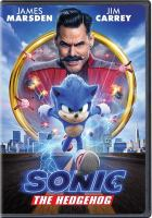Sonic the Hedgehog Book cover