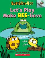 Let's play make bee-lieve  Cover Image