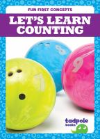 Let's learn counting Book cover
