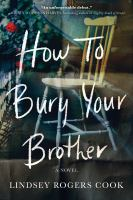 How to bury your brother Book cover