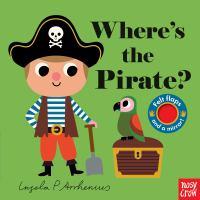 Where's the pirate? Book cover