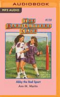 Abby the bad sport  Cover Image