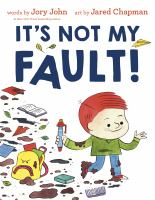 It's not my fault! Book cover