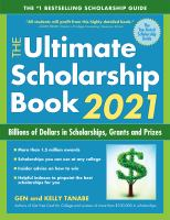 The ultimate scholarship book 2021 : billions of dollars in scholarships, grants and prizes  Cover Image