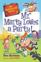 Mr. Marty loves a party! Book cover
