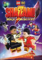 Lego DC Shazam! Magic and monsters Book cover