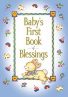 Baby's first book of blessings Book cover