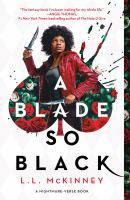 A blade so black Book cover