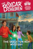 The skeleton key mystery Book cover