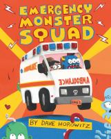 Emergency Monster Squad Book cover