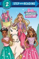 Barbie princess adventure Book cover