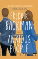 Anxious people : a novel Book cover