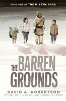 The barren grounds Book cover