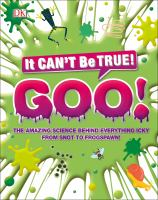 The science of goo Book cover