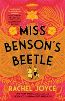 Miss Benson's beetle : a novel Book cover