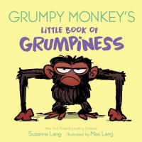 Grumpy Monkey's little book of grumpiness Book cover