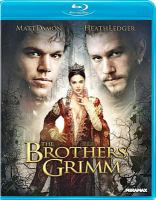 The brothers Grimm Book cover